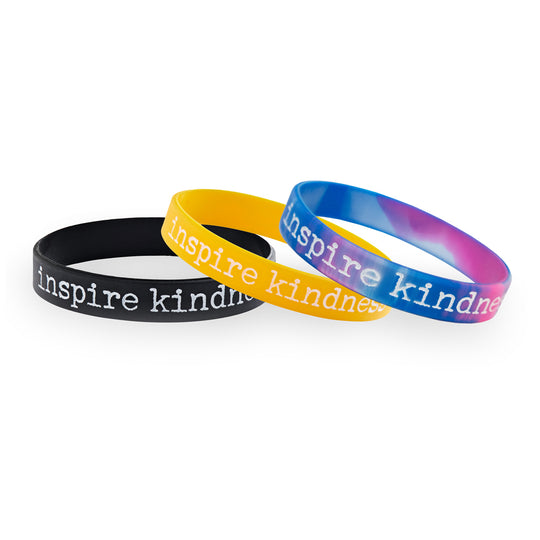 Inspire Kindness Youth Wristbands (Pkg/10)