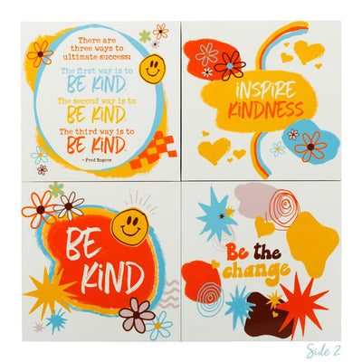 Inspire Kindness Decorative Block Set - SW Inspire | Inspire Kindness | The Dash Poem