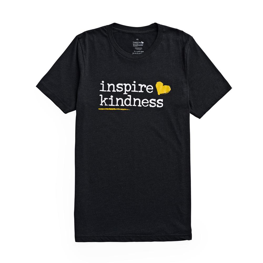 Inspire Kindness Logo Unisex T-shirt - SW Inspire | Inspire Kindness | The Dash Poem
