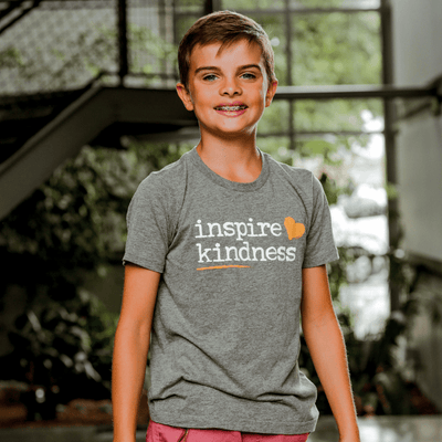 Inspire Kindness Logo Youth Tee - SW Inspire | Inspire Kindness | The Dash Poem