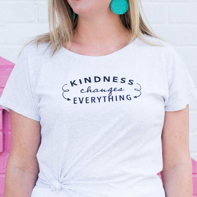 Kindness Changes Everything Arrow Ladies Tee - SW Inspire | Inspire Kindness | The Dash Poem