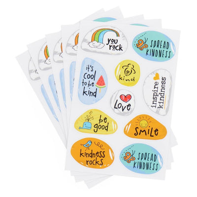 Kindness Rock Sticker Pack - SW Inspire | Inspire Kindness | The Dash Poem