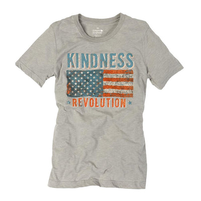Kindness Revolution Flag Unisex Tee - SW Inspire | Inspire Kindness | The Dash Poem
