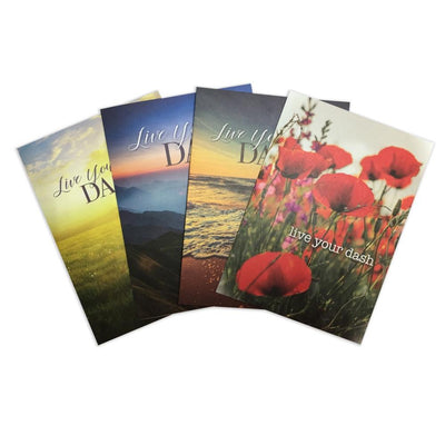 Live Your Dash Thank You Cards (Pkg/8, Includes Keepsake) - SW Inspire | Inspire Kindness | The Dash Poem