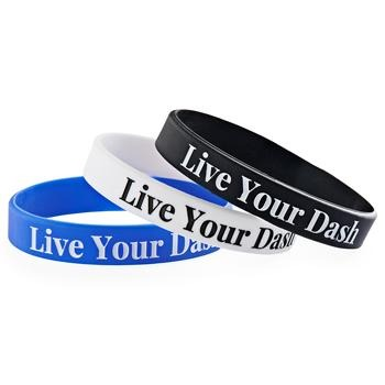 Live Your Dash Wristbands (Pkg/10) - SW Inspire | Inspire Kindness | The Dash Poem