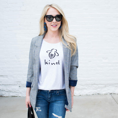 Bee Kind Ladies Tee - SW Inspire | Inspire Kindness | The Dash Poem