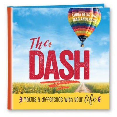 The Dash Book (Bright Cover) - SW Inspire | Inspire Kindness | The Dash Poem