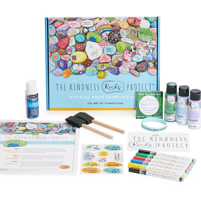 Deluxe Kindness Rock Painting Kit - SW Inspire | Inspire Kindness | The Dash Poem
