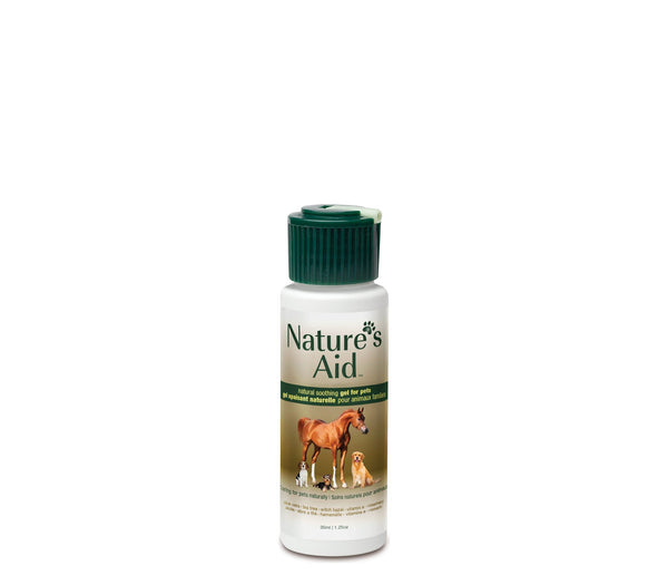 Nature's Aid : Gel apaisant naturel pour animaux / True Natural Soothing Gel for Pets 35 ml