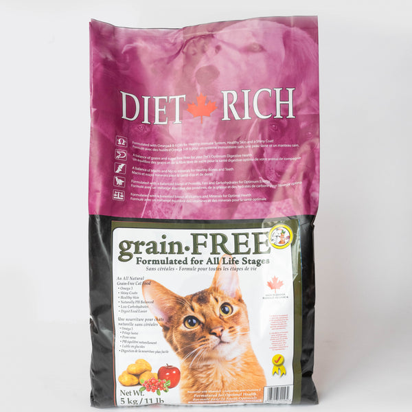 DietRich : Nourriture pour chats sans grains / Grain-free cat food