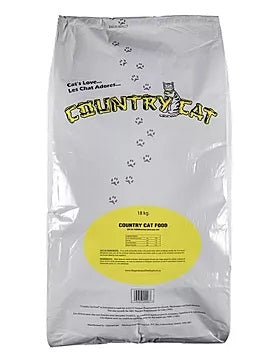 Nourriture Country Cat / Country Cat food in white bag