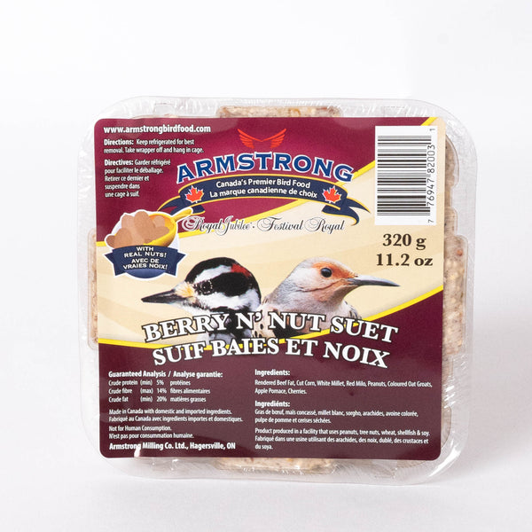 Armstrong suif baies et noix / Armstrong berry N'nut suet