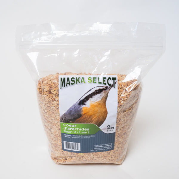 Maska Select coeur arachide / Maska select peanut hearts