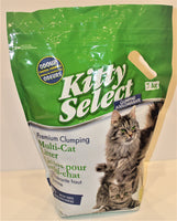 Litière Kitty Select / Kitty Select litter in green bag