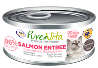 PureVita conserve chat sans grain saumon - PureVita canned grain free salmon