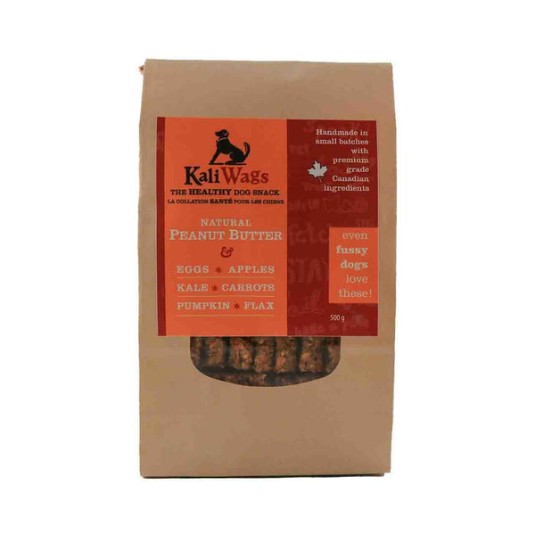 Kali Wags : Beurre d'arachide naturel / Natural peanut butter dog treat