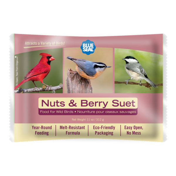 Blue Seal suif baie et noix / Blue Seal suet nuts and berry