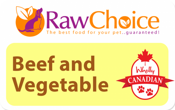 RawChoice Boeuf et Légumes / Beef and Vegetables