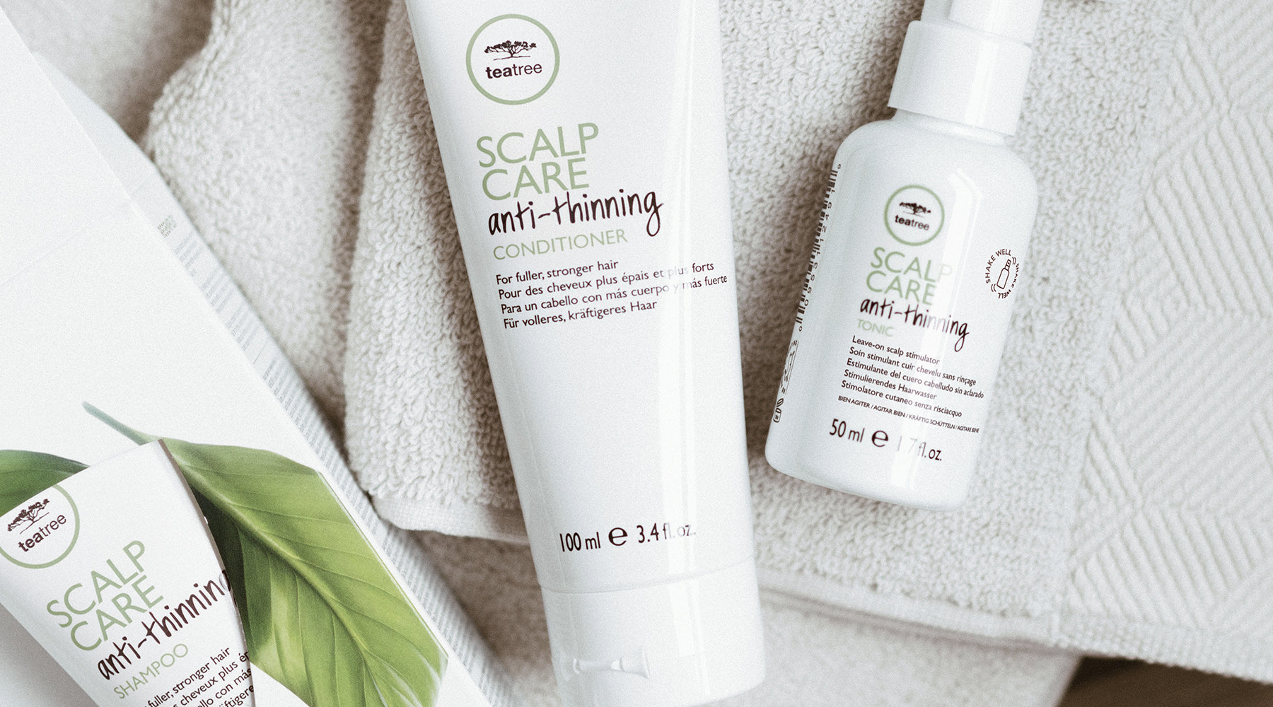 TEA TREE Scalp Care – Volleres Haar