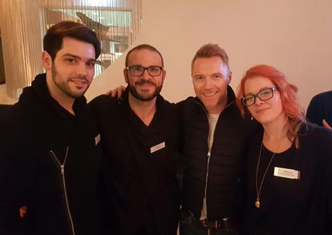 Styling Ronan Keating Night of the Proms Paul Mitchell