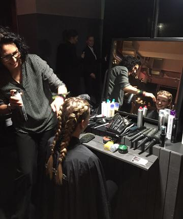 Styling VIP Lounge Night of the Proms Paul Mitchell