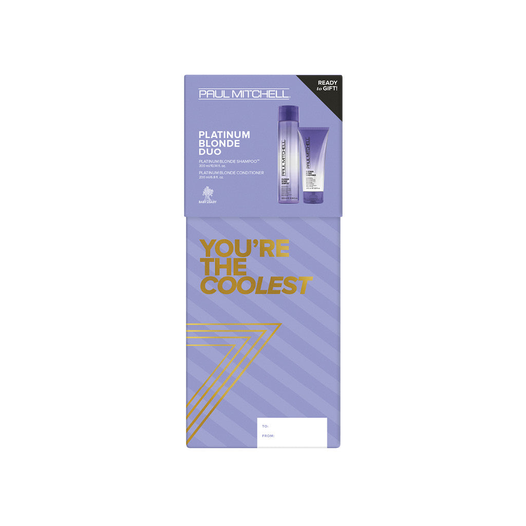 PAUL MITCHELL® Holiday Platinum Blonde Duo