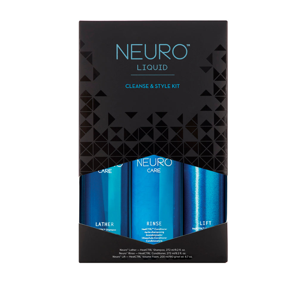 NEURO™ Liquid Cleanse and Style Kit
