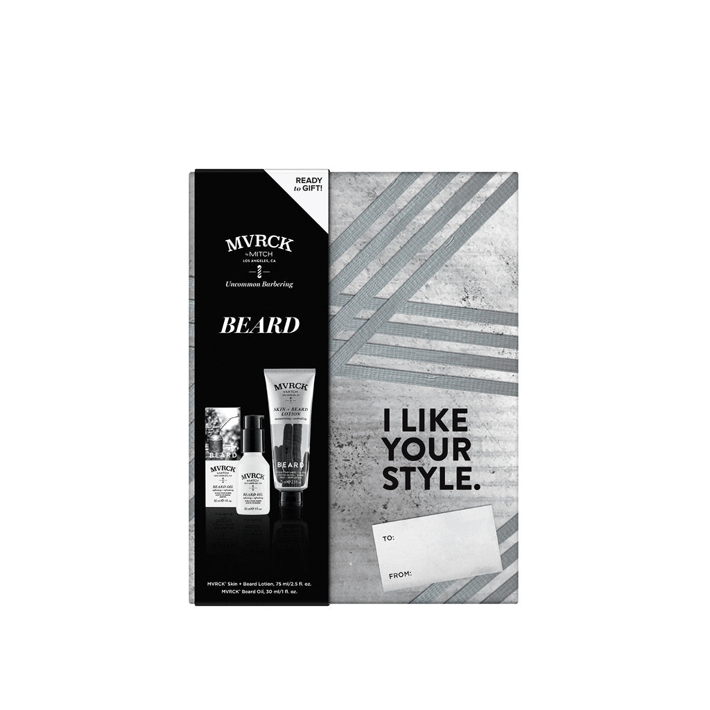 MVRCK® Holiday Beard Gift Set