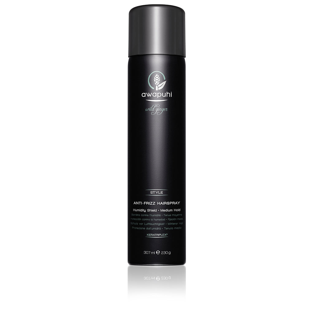 AWAPUHI WILD GINGER® Anti-Frizz Hairspray