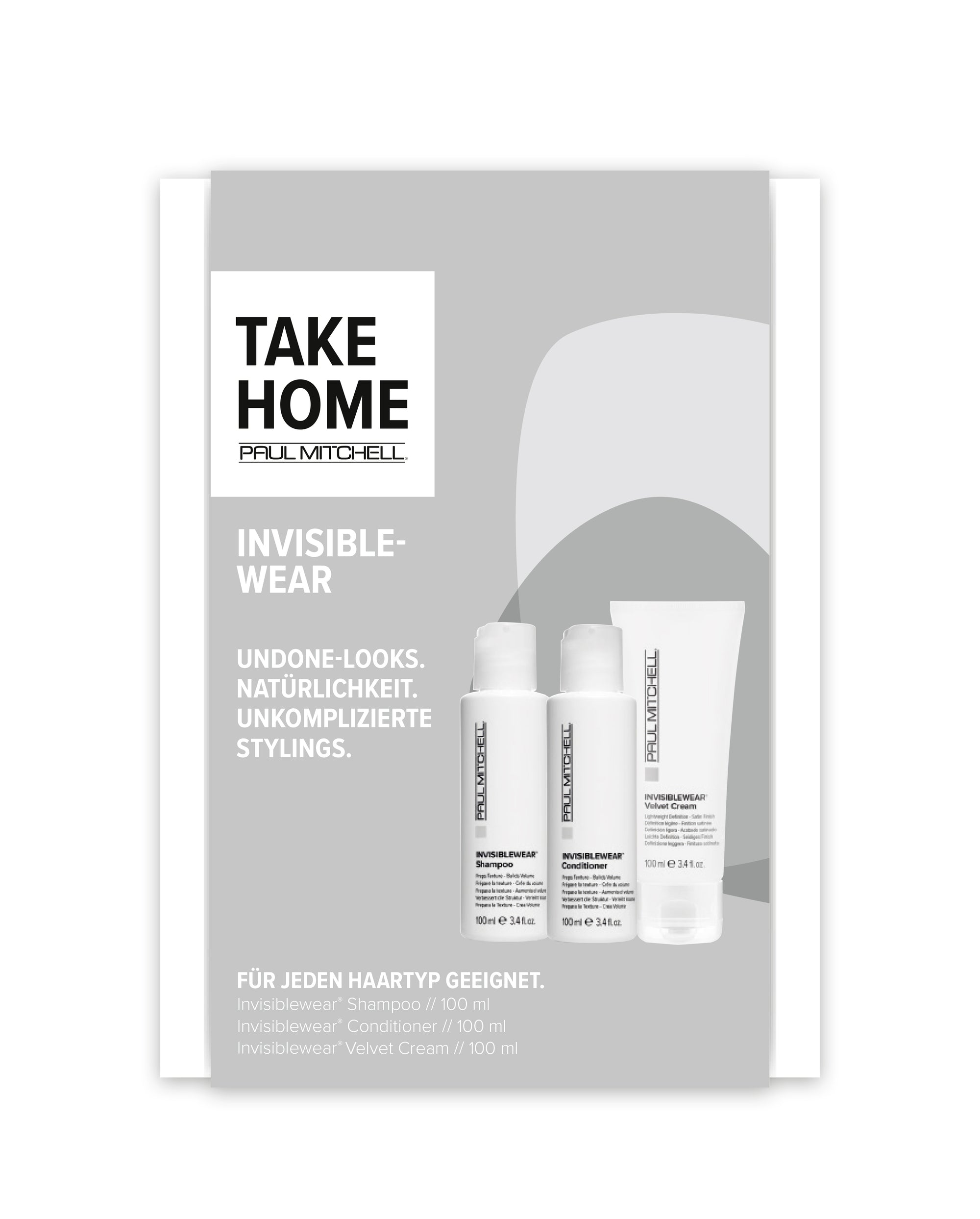 PAUL MITCHELL® Take Home Kit INVISIBLEWEAR
