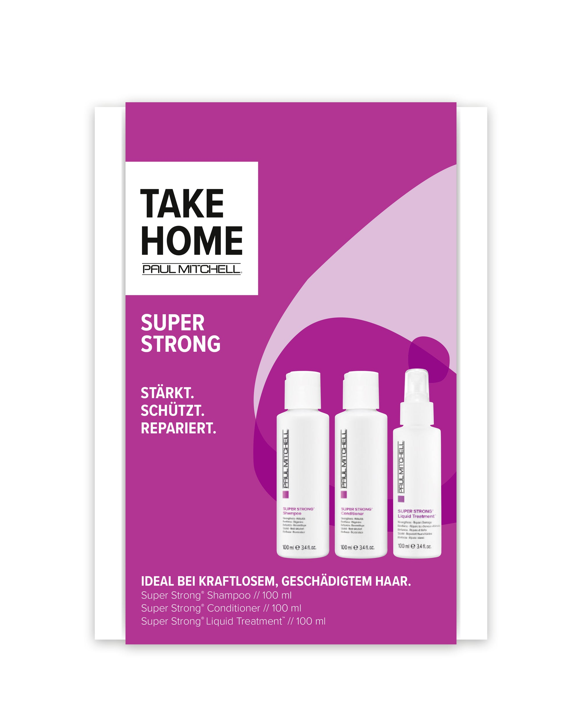 PAUL MITCHELL® Take Home Kit SUPER STRONG
