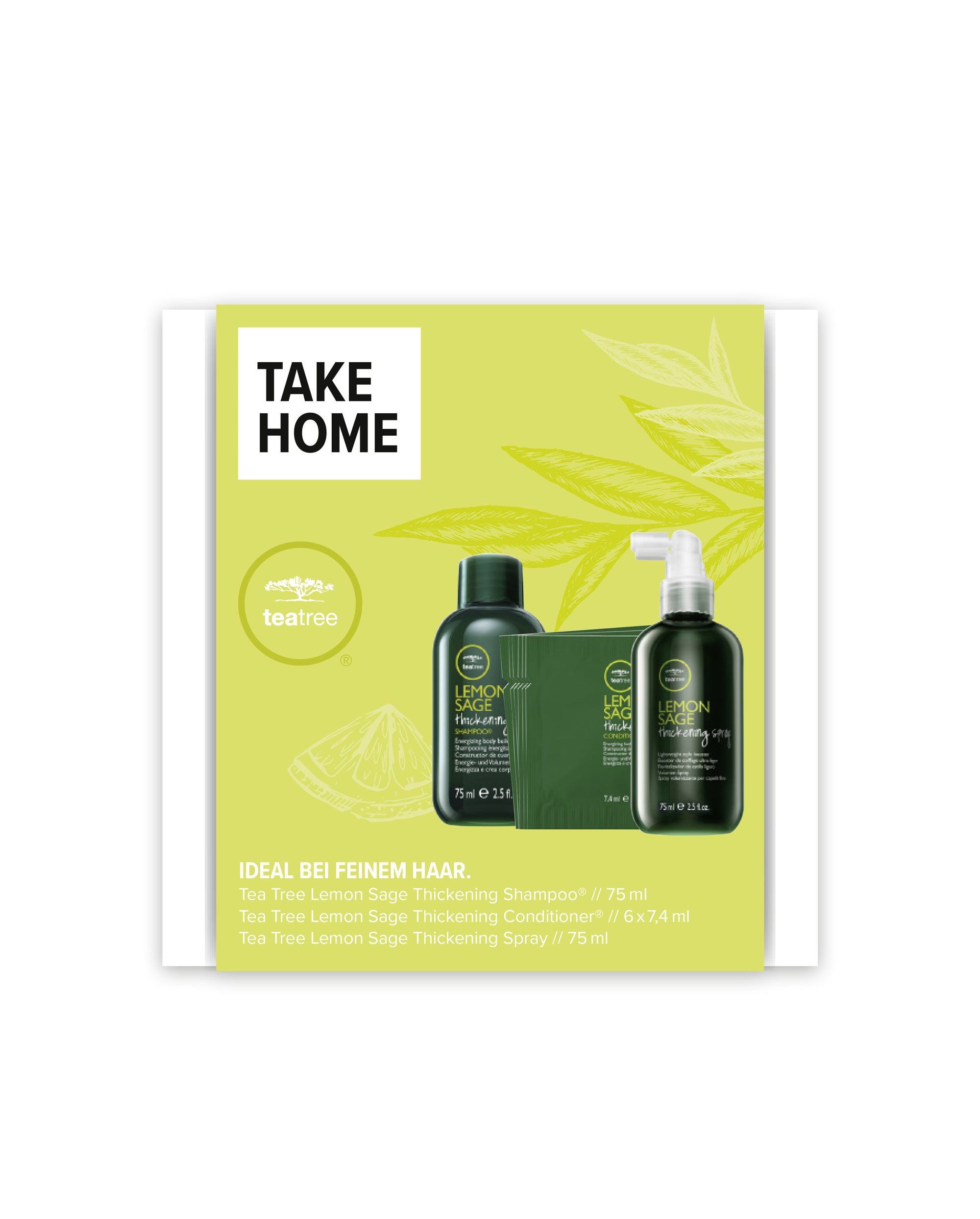 TEA TREE® Take Home Kit LEMON SAGE
