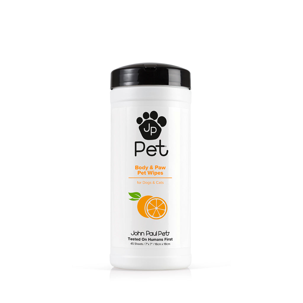 JOHN PAUL PET® Full Body & Paw Bath Wipes
