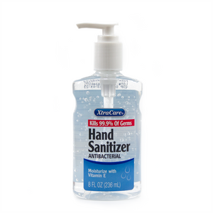 Gel Hand Sanitizer (70% Alcohol) with Pump, 8oz (Case of 24)
