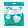 4 Layer KN95 Face Mask with Ear Loop, Pack of 5