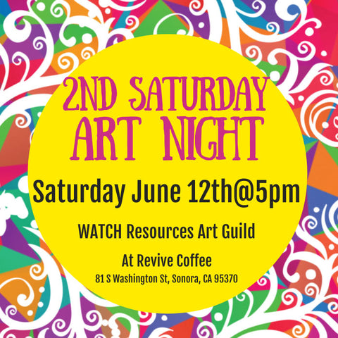 WATCH Resources Art Guild - 2nd Saturday Art Night Event - Revive Coffee Shop