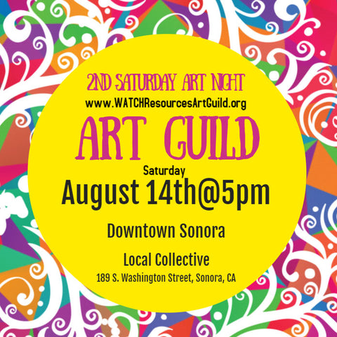 2nd Saturday Art Night August 2021 - Local Collective