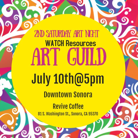 WATCH Resources Art Guild - 2nd Saturday Art Night Feature's Fresh Fish