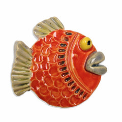 WATCH Resources Art Guild - Fresh Fish Ceramic Art by Lisa Uptain and Piper Roberson