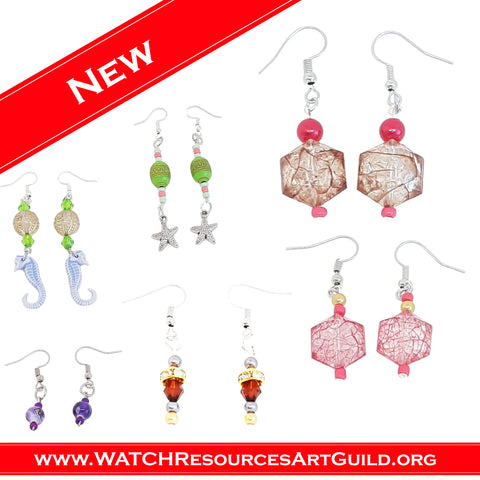 WATCH Resources Art Guild - January 2021 Features Valentine's Day Jewelry