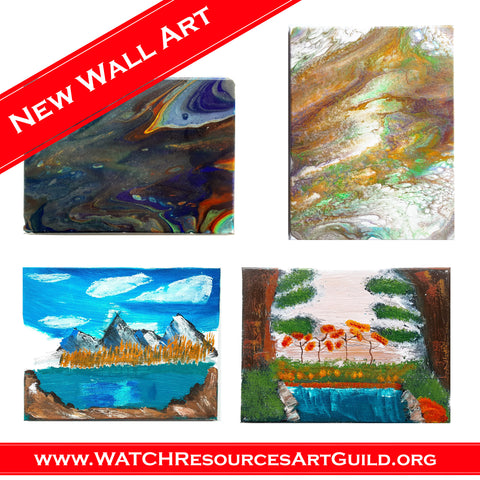 WATCH Resources Art Guild - January 2021 Features New Wall Art