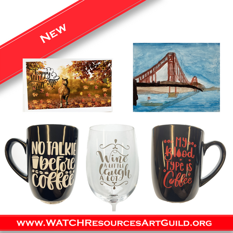 WATCH Resources Art Guild - July 2021 New