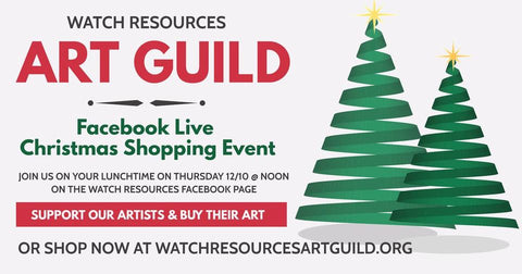 WATCH Resources Art Guild Christmas Shopping Event