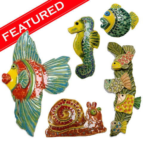 WATCH Resources Art Guild August 2020 Features Fresh Fish