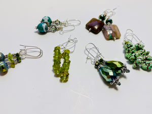 06 - The Green Goddess Collection Earrings