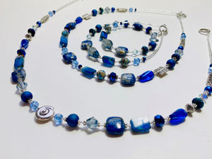 07 - The Bohemian Blue Collection Necklace