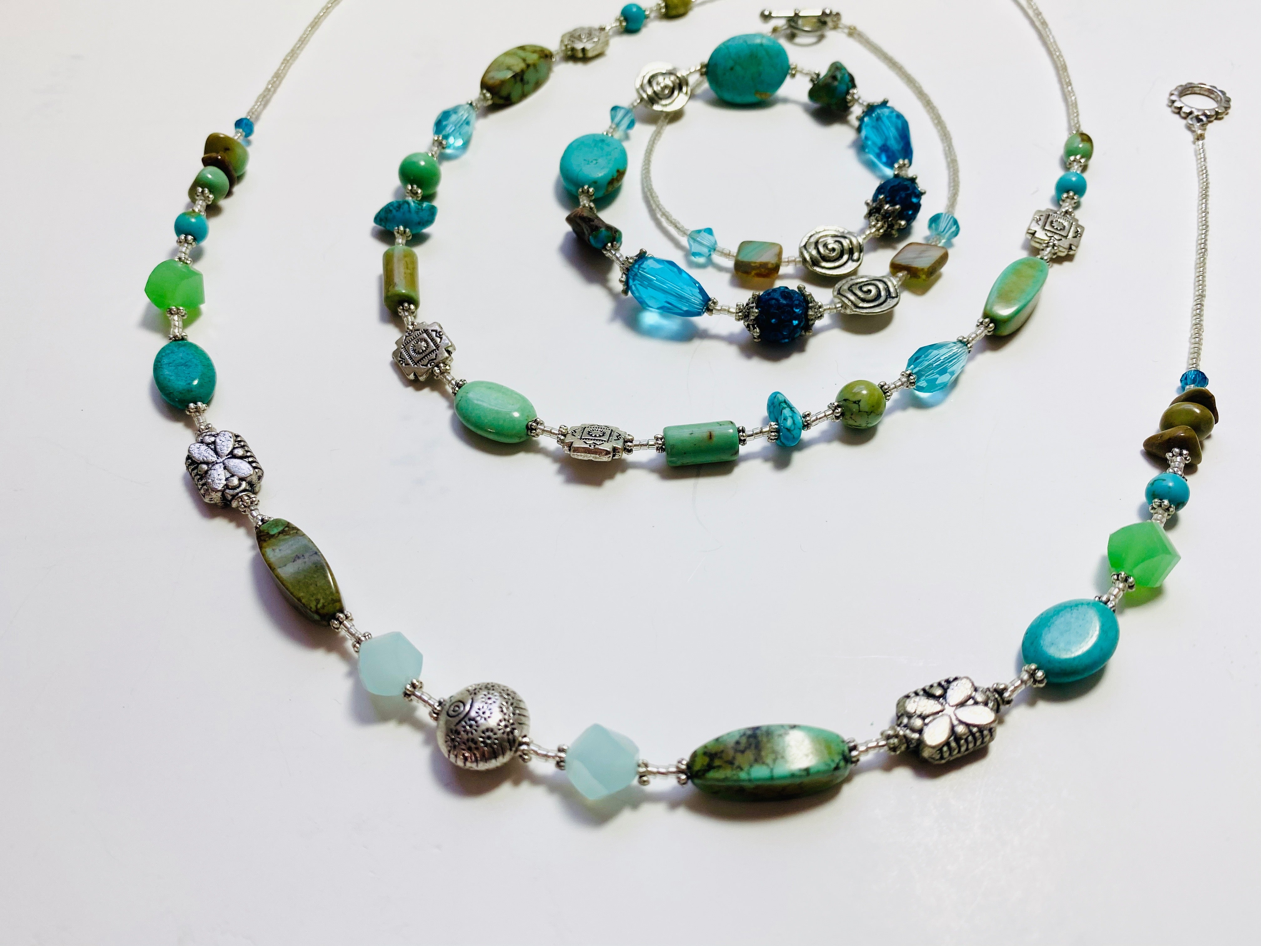 10 - Turquoise Collection Necklace
