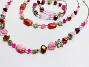 "22 - The ""Pretty In Pink"" Collection Necklace"