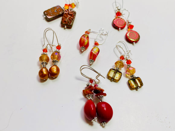 30 - The Optimistic Orange Collection Earrings