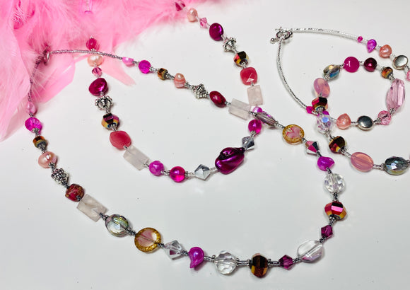 1 - Classic Short Necklace - Artist Choice of Beads!